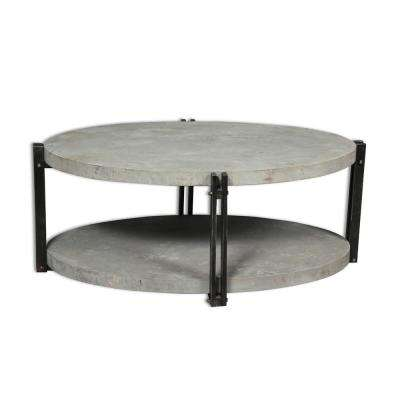 CalceFerro Collection Gray Cocktail Table