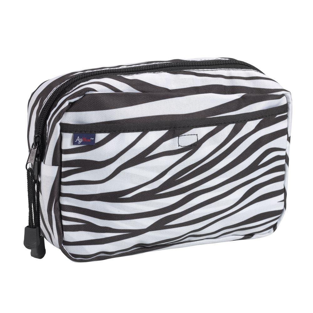 AgeWise Walker Rollator Caddy in Zebra