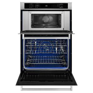 kitchenaid 30 in electric even heat true convection wall oven with rh homedepot com