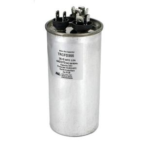 Packard 440-Volt 35/5 MFD Dual Rated Motor Run Round Capacitor-TRCFD355 -  The Home Depot