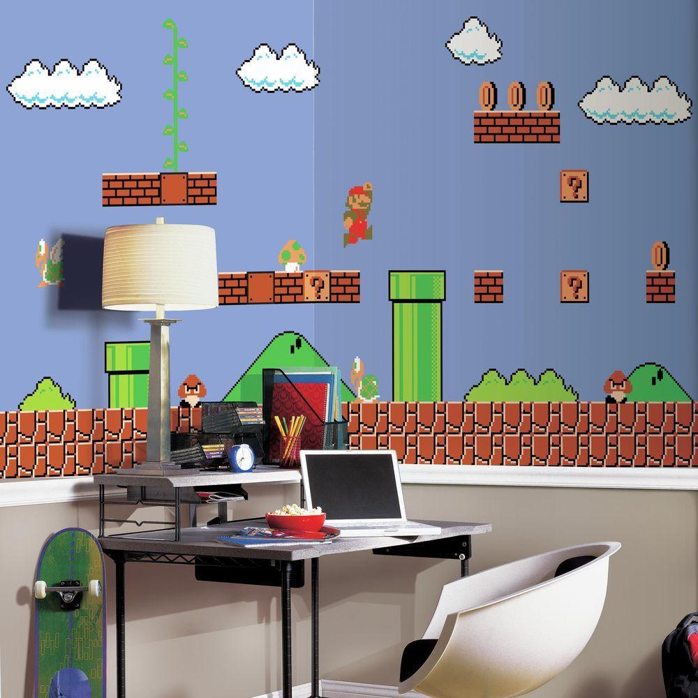 72 in. W x 126 in. H Super Mario Retro XL