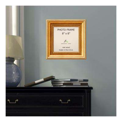 Townhouse 8 in. x 8 in. Gold Picture Frame