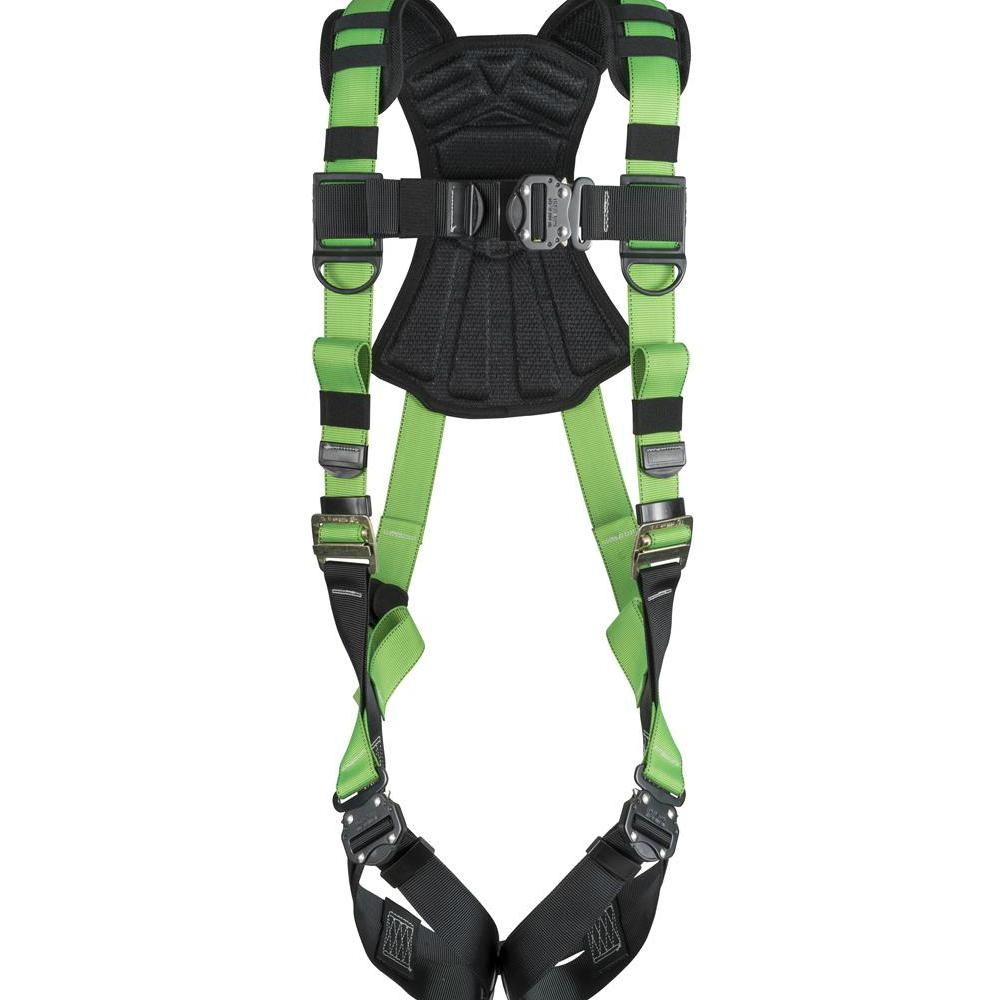 Lineman Safety Harness Vest Body Fall Protection Snap In