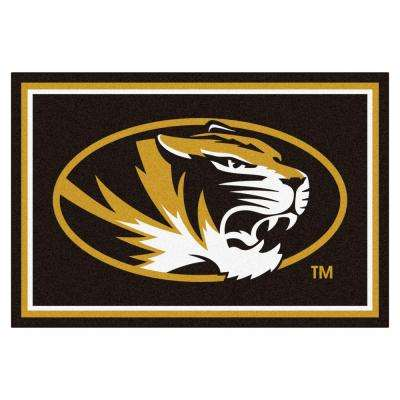 University of Missouri 5 ft. x 8 ft. Area Rug
