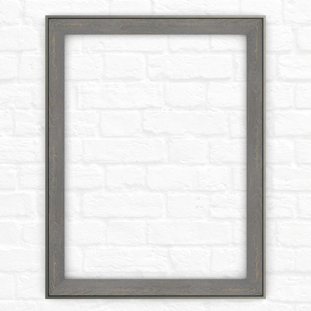 23 in. x 33 in. (S2) Rectangular Mirror Frame in Weathered