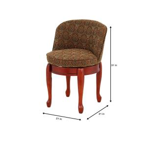 Brilliant Home Decorators Collection Delmar Tapestry High Back Swivel Andrewgaddart Wooden Chair Designs For Living Room Andrewgaddartcom