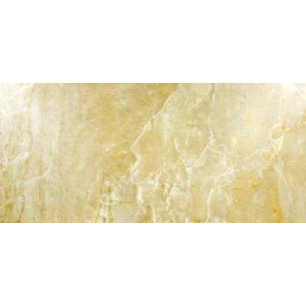 MS International Onyx Sand 8 in. x 12 in. Glazed Porcelain Floor and Wall Tile (6.67 sq. ft. / case)