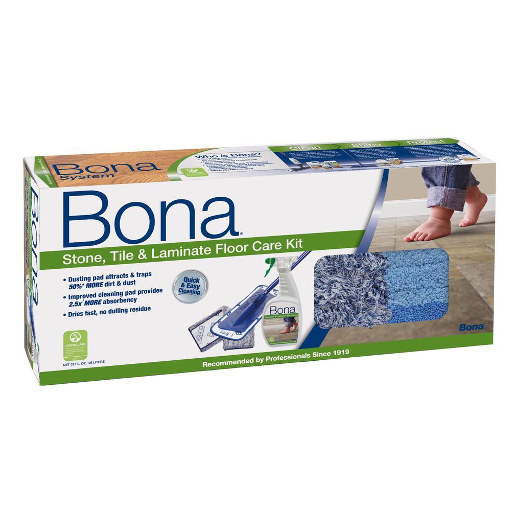 Bona Stone, Tile and Laminate Floor Care System