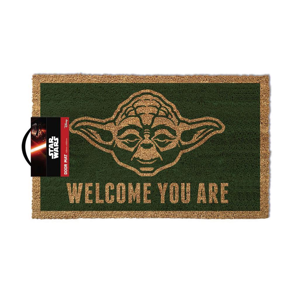 Star Wars - Yoda - 17 in. x 29 in. Coir Door Mat