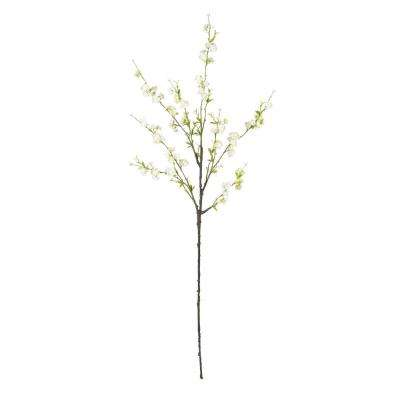 Indoor 38 in. Cherry Blossom Artificial Flower (Set of 6)