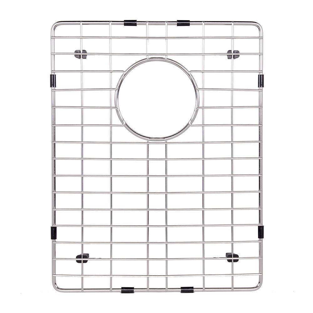 vigo 16.25 in. x 12.75 in. kitchen sink bottom grid-vgg1613 - the