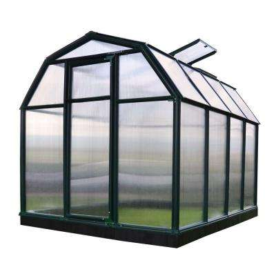 Eco-Grow Twin Wall 6 ft. x 8 ft. Greenhouse