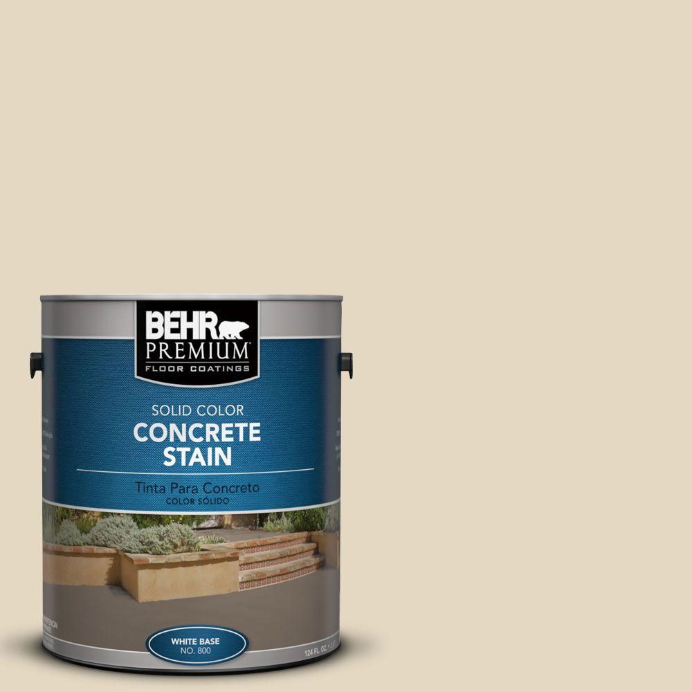 BEHR Premium 1 gal. #PFC-16 Wool Coat Solid Color Interior ...