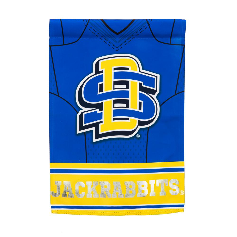 Genial Evergreen 1 1/24 Ft. X 1 1/2 Ft. South Dakota State University 2 Sided  Jersey Garden Flag 14S5015BLJ   The Home Depot