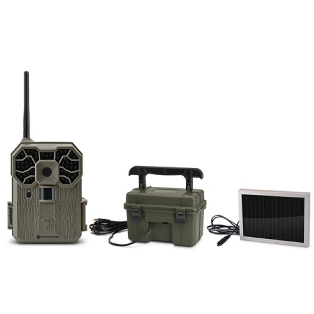 STEALTH CAM GXW Wireless 12 MP Scouting Camera with 12-Vo...