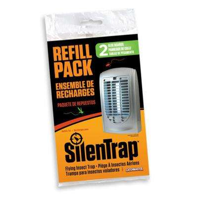 Refill Pack Glue Boards for SilenTrap Flying Insect Trap Unit (906) (2-Pack)