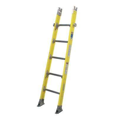 6 ft. Fiberglass Tapered Sectional Ladder with 375 lb. Load Capacity Type IAA Duty Rating - Base Section