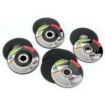4-1/2 in. Grinding Wheel Set (10-Piece)