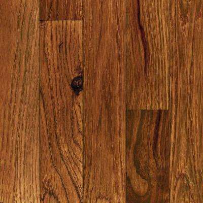 Take Home Sample - Oak Gunstock Solid Hardwood Flooring - 5 in. x 7 in.