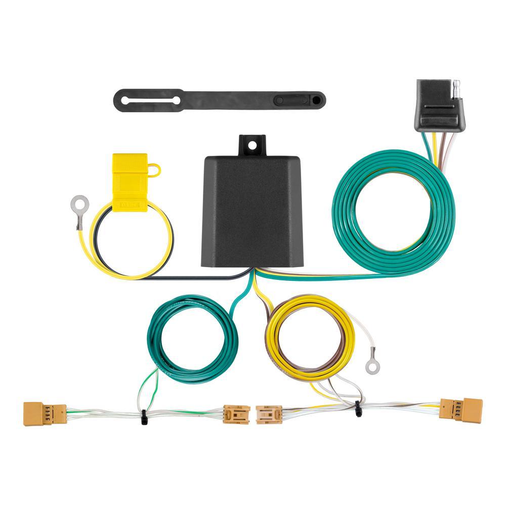 on 4 way wiring harness