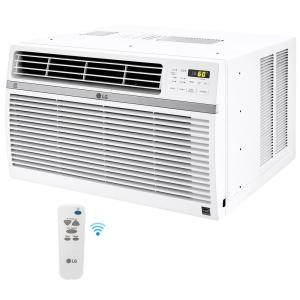 LG Electronics 8000 BTU Window Smart (Wi-Fi) Air Conditioner with Remote