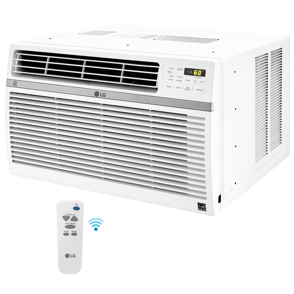 LG Electronics 8000 BTU Window Smart Air Conditioner