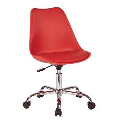 Emerson Red Office Chair