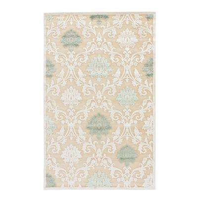 Machine Made Biscotti 8 ft. x 10 ft. Damask Area Rug