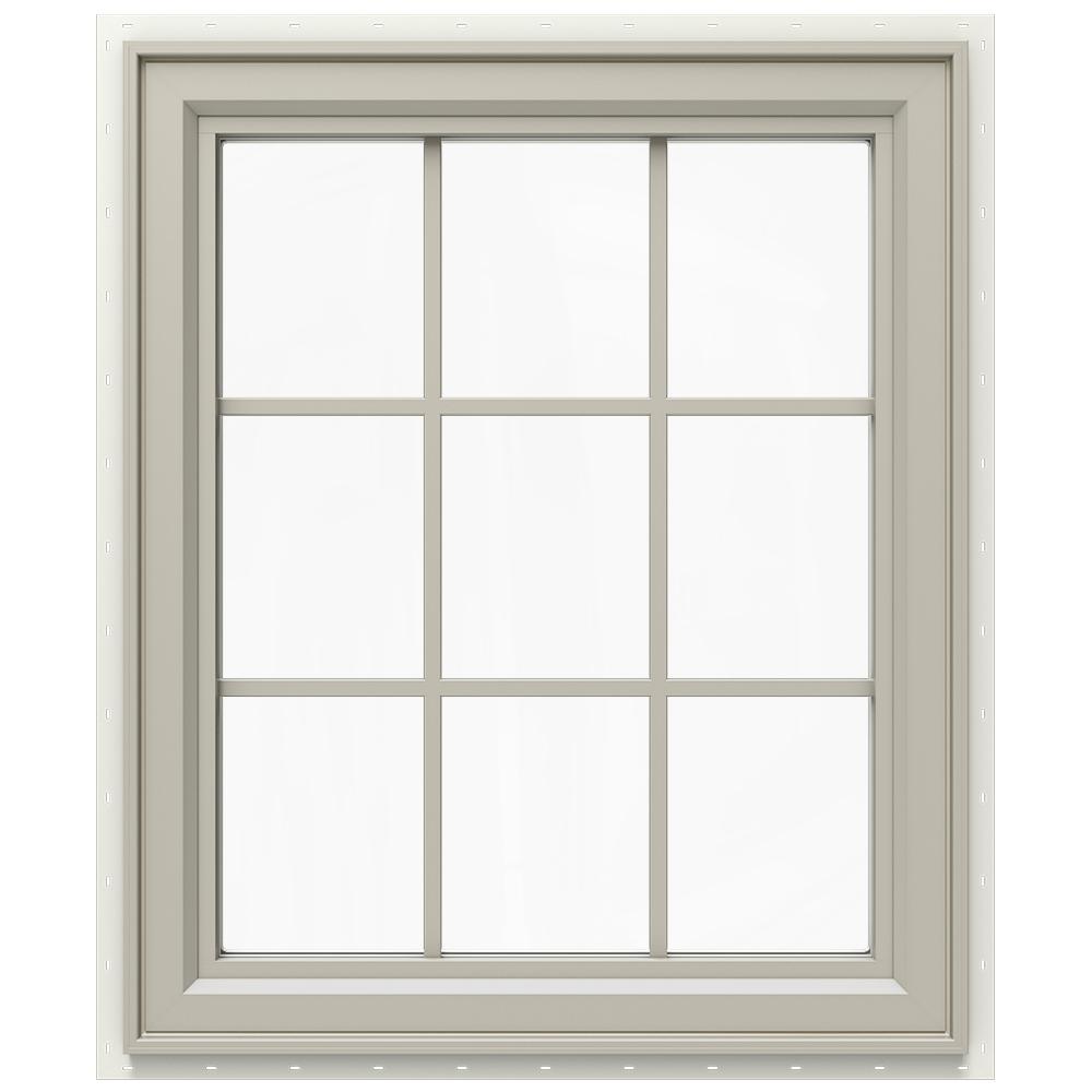 29.5 in. x 35.5 in. V-4500 Series Right-Hand Casement Vinyl Window
