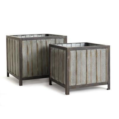 Sonoma Iron Planters (Set of 2)