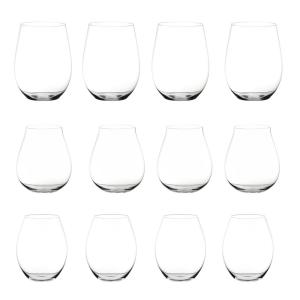 Click here to buy Riedel Big O 12-Piece Stemless Assorted Red Wine Glass Set by Riedel.