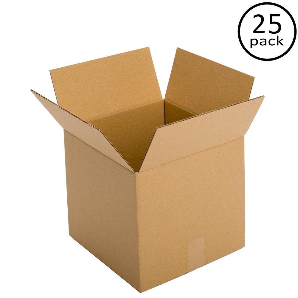 12 in. L x 12 in. W x 10 in. D (25-Pack)