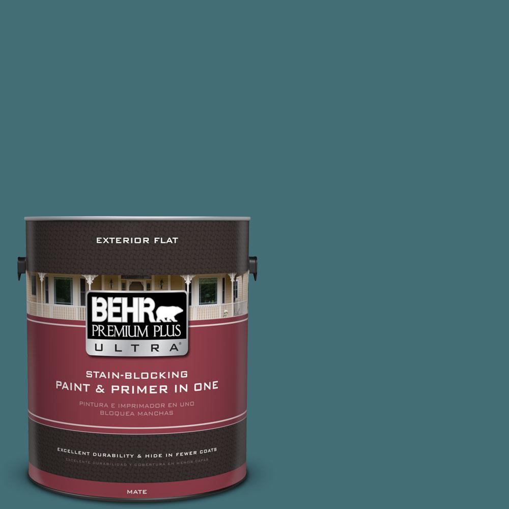 1 gal. #520F-6 Cathedral Flat Exterior Paint
