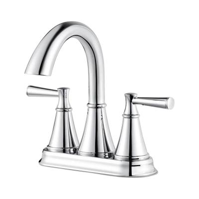 Cantara 4 in. Centerset 2-Handle Bathroom Faucet in Polished Chrome