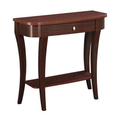 Newport Mahogany Console Table