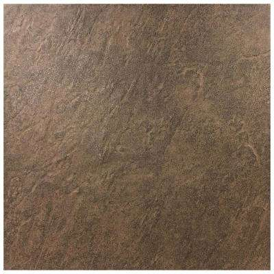 Formations Dark Pebble 18 in. x 18 in. Porcelain Floor and Wall Tile (15.75 sq. ft. / case)