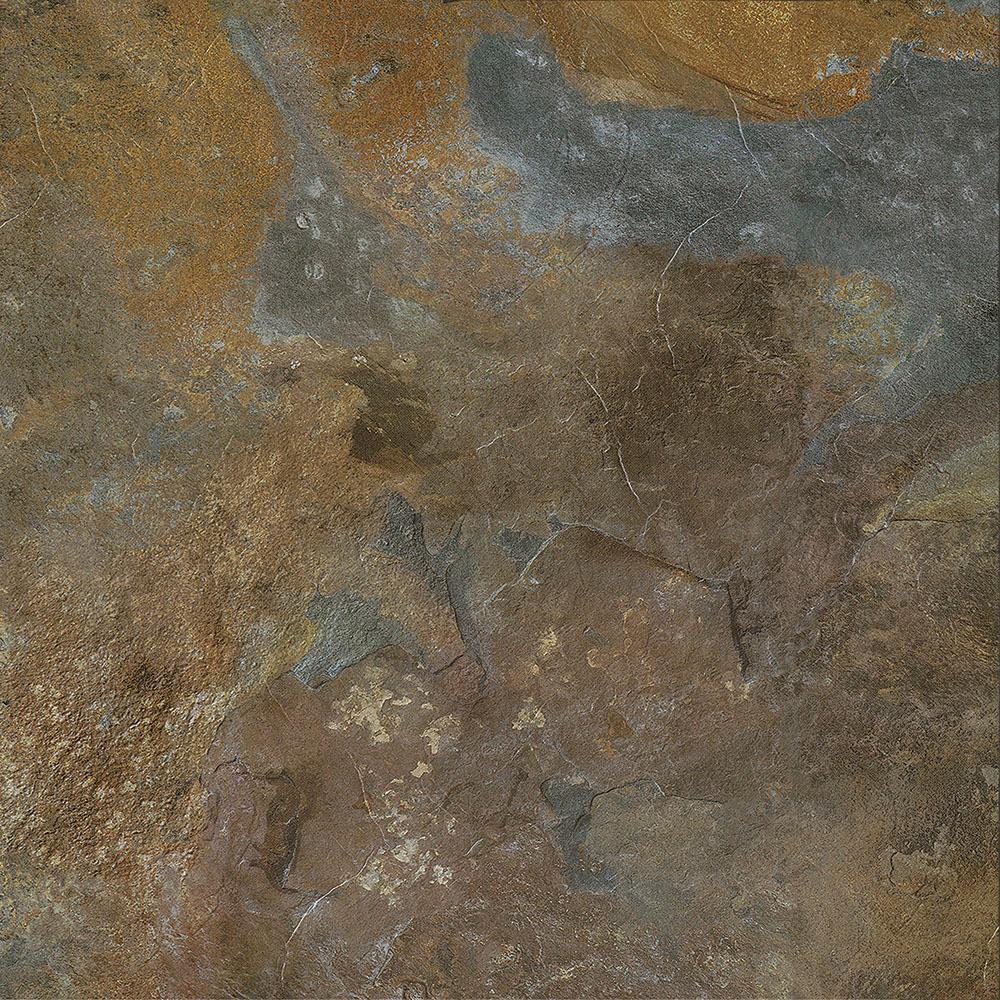 Take Home Sample - Slate Peel and Stick Vinyl Tile Flooring - 5 in. x 7 in.
