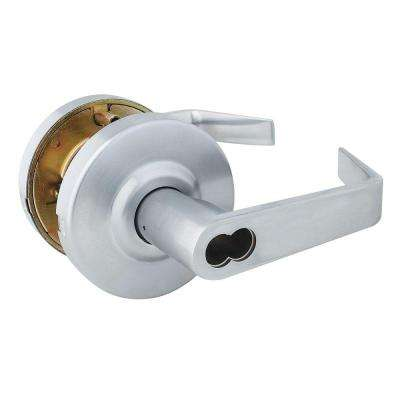 Eiffel Style Commercial Keyed Entry Door Lever with Interchangeable Core