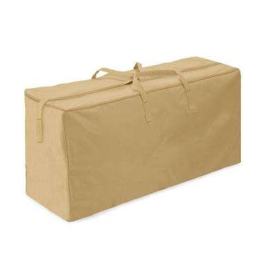 Khaki Patio Cushion Storage Bag