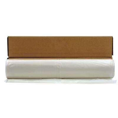12 ft. 4 in. x 100 ft. Clear 4 mil Plastic Sheeting