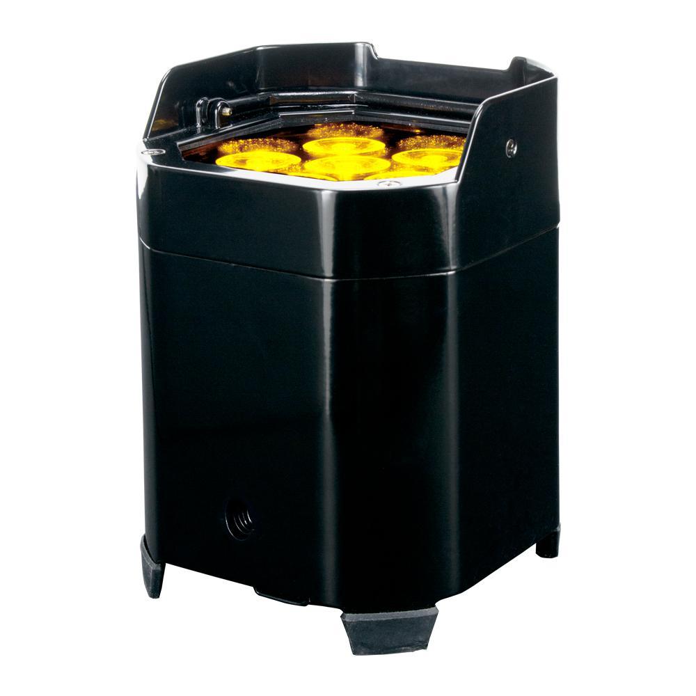 Element QA Black 5-Watt RGBA Wifly DMX Par High Bay Integrated LED Commercial Light Type
