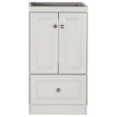 18 in. W x 21 in. D x 34.5 in. H Simplicity Bath Vanity Cabinet Only in Ultra Dewy Morning
