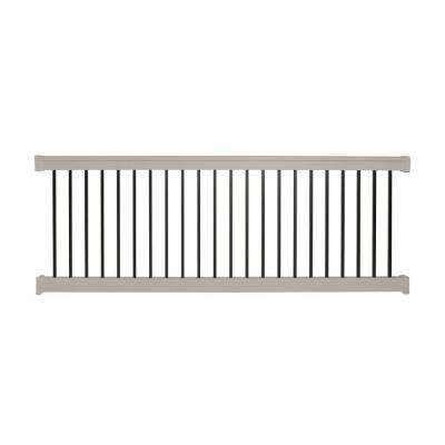 Vilano 3 ft. H x 8 ft. W Vinyl Tan Railing Kit