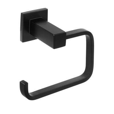 Farrington Towel Ring in Matte Black