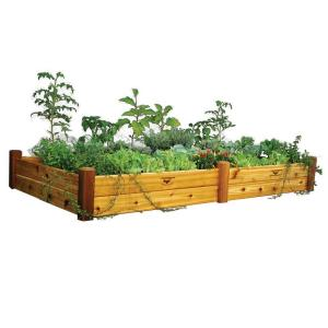 Gronomics 48 In X 95 In X 13 In Safe Finish Raised Garden Bed Rgb 48 95s The Home Depot