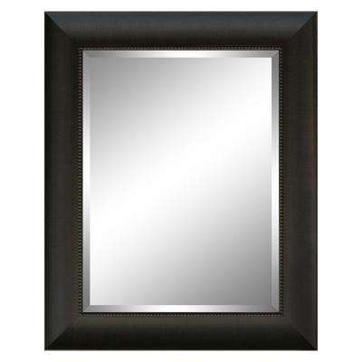 28 in. x 34 in. Charleston Mirror in Mahogany