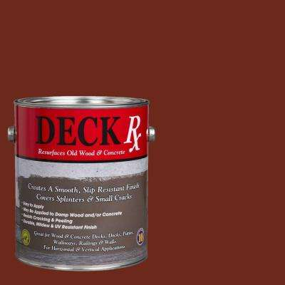Deck Rx 1 gal. Redwood Wood and Concrete Exterior Resurfacer