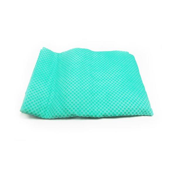 32 in. x 8 in. Cooling Towel in Green