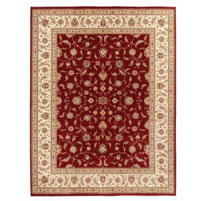 Maggie Red 9 ft. x 12 ft. Area Rug