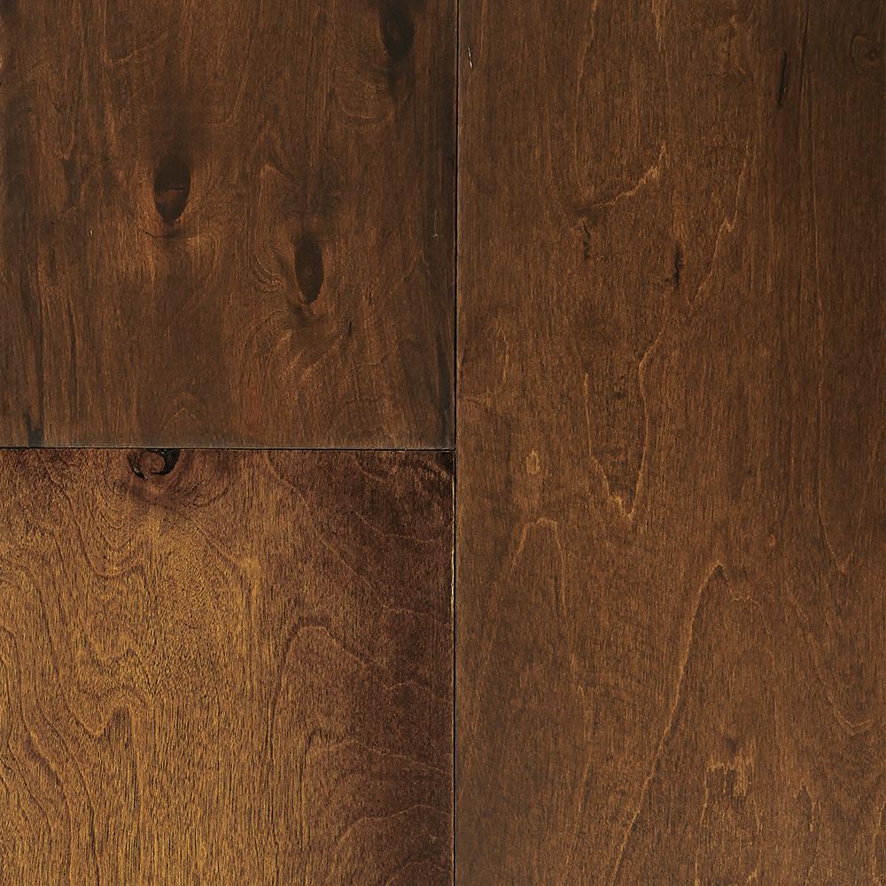 Sterling Floors Take Home Sample Balmoral Birch Engineered Click Hardwood Flooring 6 1/2 In. X 7 In.